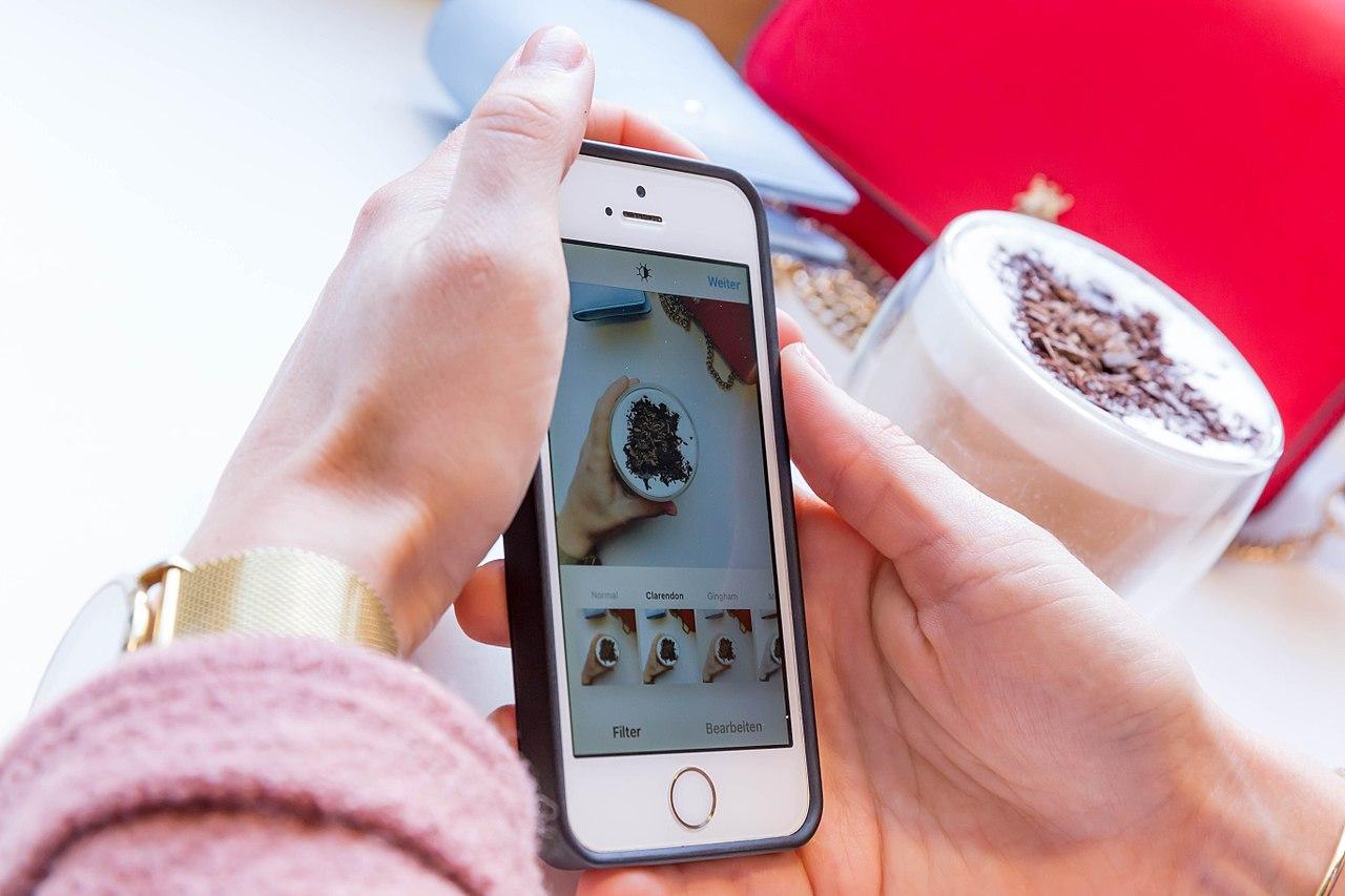 Elige un filtro de Instagram para todas las publicaciones