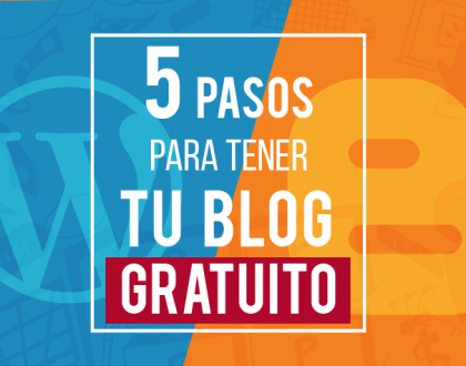 5 pasos para tener un blog gratuito